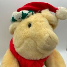 "Old VTG Commonwealth Toys Christmas Musical Hamster Snorting Jingle Bells 12""Fun"
