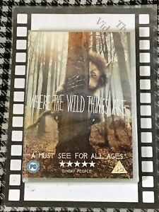 Where The Wild Things Are (DVD - Brand New & Sealed)
