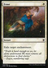 4x Erase | NM/M | Khans of Tarkir | Magic MTG