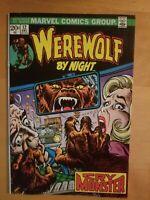 Werewolf By Night 12 Marvel Comics 1973 Bronze Age