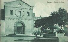 Sassari Chiesa di S. Maria - Cartolina primi anni del '900 -  Animata
