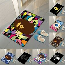 Bape A Bathing Ape Carpet Mat Bedroom Living Room Floor Mat Fashion Non-slip Rug
