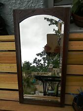 ANTIQUE WOOD WALL MIRROR