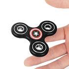 Captain America Hand Spinner Tri Fidget Finger Fingertip Gyro Desk Toy EDC