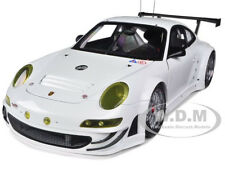 2010 PORSCHE 911 (997) GT3 RSR PLAIN BODY VERSION WHITE 1/18 AUTOART 81073