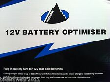 Oxford Black Rock 12v Battery Optimiser Trickle 12 Volt Charger for Bike Car