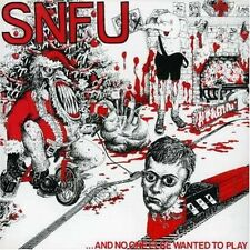 SNFU And No One Else Wanted To Play Vinyl LP Record! s.n.f.u 1984 punk rock NEW!
