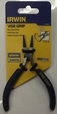 Irwin VISE-GRIP 1773612 4-1/2 Inch Round Nose Pliers With Spring RN4