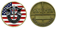 Challenge coin - US Army Special Forces Sniper