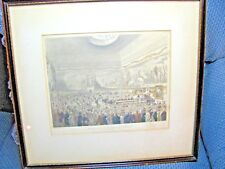 "ANTIQUE ENGRAVING ""SOCIETY FOR THE ENCOURAGEMENT OF ARTS ADELPHI""PLATE #71-1809"