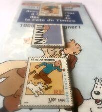 Rare Blister 3 Pin's Tintin Fête Du Timbre 2000
