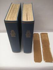 THE BOOK OF THE QUEENS DOLLHOUSE 1924 LIMITED EDITION Vol 1 & Vol. 2