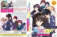 Saekano: How to Raise a Boring Girlfriend: Season 1&2 (Vol.1 - 25 End) ~ 2-DVD ~