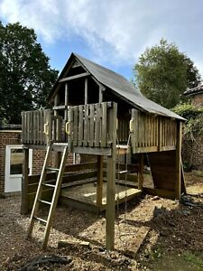 2 Storey Wooden Playhouse / Fort