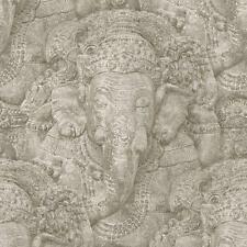 Stone Effect Elephant Wallpaper Paste the Wall Vinyl Feature 525519