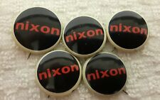 "Nixon Political Presidential Campaign 1"" pinback Button - LOT OF 5"