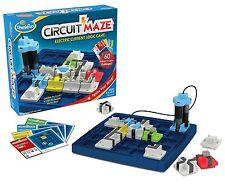 NEW!! ThinkFun Electronic Circuit Maze Logic Game-Electricity Circuit