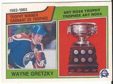 1983-84 OPC O-Pee-Chee Wayne Gretzky Art Ross Trophy #204 Near Mint