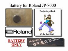 Battery for Roland JP-8000 Synth - Internal Memory Backup Replacement Battery