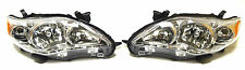 Toyota Corolla USA 09-13 Front head lamp lights for CE/LE model Chrome LH+RH set