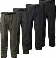 Craghoppers Classic Kiwi Trousers - Smart Dry Water Repellent Elasticated Waist