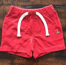 New!!! Baby Gap Red Pull on Shorts,Infant Boys Size 3-6 Months