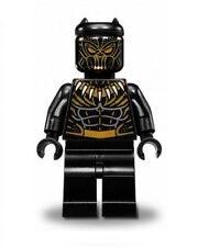 LEGO MARVEL SUPER HEROES MINIFIGURE BLACK PANTHER GOLDEN JAGUAR KILLMONGER 76099