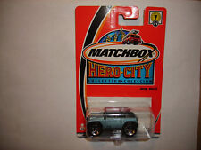 Matchbox Hero City - #71 Jeep Willys - Metallic Light Blue Off Road FREE SHIP