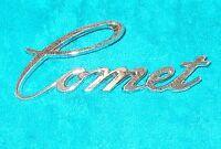 1973 1974 1975 Mercury Comet Gt ORIG FRONT FENDER 'COMET' SCRIPT EMBLEM