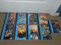 NICE SELECTION Sega CD Game Complete CIB Case U Choose One Shinning Lunar