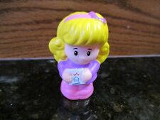 Fisher Price Little People Sweet Sounds home house Mom lady girl Emma school toy