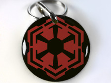 star wars Sith pet id tag dog tag cat tag personalized with your pet info