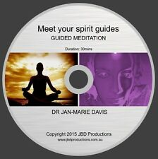 Meet Your Spirit Guides Guided Meditation CD by Dr Jan-Marie Davis Music & Voice