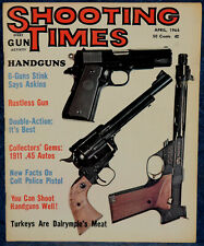 Magazine SHOOTING TIMES, April 1966  !!! COLT Police Model of 1862 REVOLVER !!!
