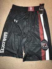Men's Authentic Under Armour Shorts New South Carolina Gamecocks M Medium