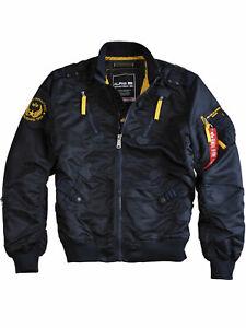 Alpha Industries Herren Jacke Falcon II 156109 Rep. Blue Bomberjacke Männer 6218