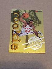 1996 1997 NBA Hoops John Wallace Rookie Basketball Card #28 Skybox Knicks NBA RC