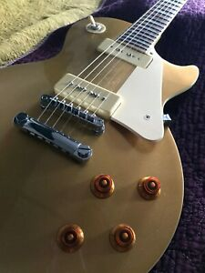 Beautiful lightly used Epiphone 56 Gold Top Les Paul with sweet P90 pickups