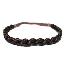 Mia Fashion Headband, Synthetic Hair Braided Headband, Waffle Braid Loose Design
