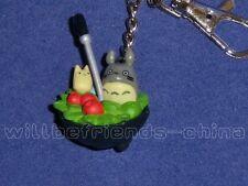 Cartoon Animation Chinchilla Umbrella Bag Pendant Key Ring Chain Backpack Charm