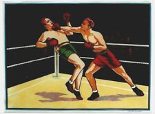 Original vintage poster BOXING FIGHT KNOCK OUT ENGLAND c.1930