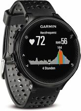 Garmin Forerunner 235 WHR Schwarz und Grau Herzfrequenzmessung am Handgelenk