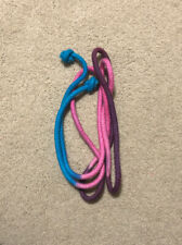 New Rhythmic Gymnastics Rope - Multicolored Blue, Pink, Purple - 105 Inches