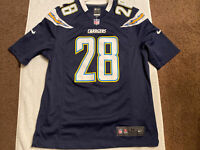 Melvin Gordon Chargers Jersey #28 Size M Nike Jersey NFL Chargers Size M