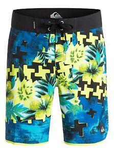 "Quiksilver Holiday Paste 19"" Boardshorts Swimwear Sz 32"