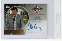 """2020 Topps Opening Day Auto.#BPA-CC  """"Chip Caray"""" @@LOOK@@ 3rd Gen. Broadcaster"""