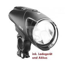 Busch e Muller B & M Premium IXON IQ con caricabatterie e batterie Nuovo Lampada Bicicletta