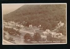Wales Powys ELAN VALLEY Model Village c1910/20s?  RP PPC local pub Wallace Jones