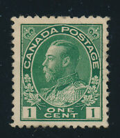 Canada Stamp Scott #104, Mint Hinged, Partial Gum