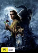 Beauty & And The Beast - Emma Watson DVD R4 New!